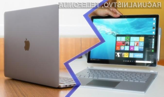 Microsoft Surface naj bi bil v marsičem boljši od Applovega računalnika MacBook.