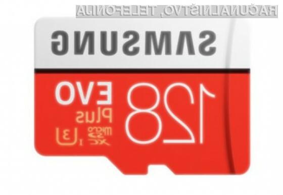 Zmogljiva micro SD kartica SAMSUNG EVO Plus po akcijski ceni