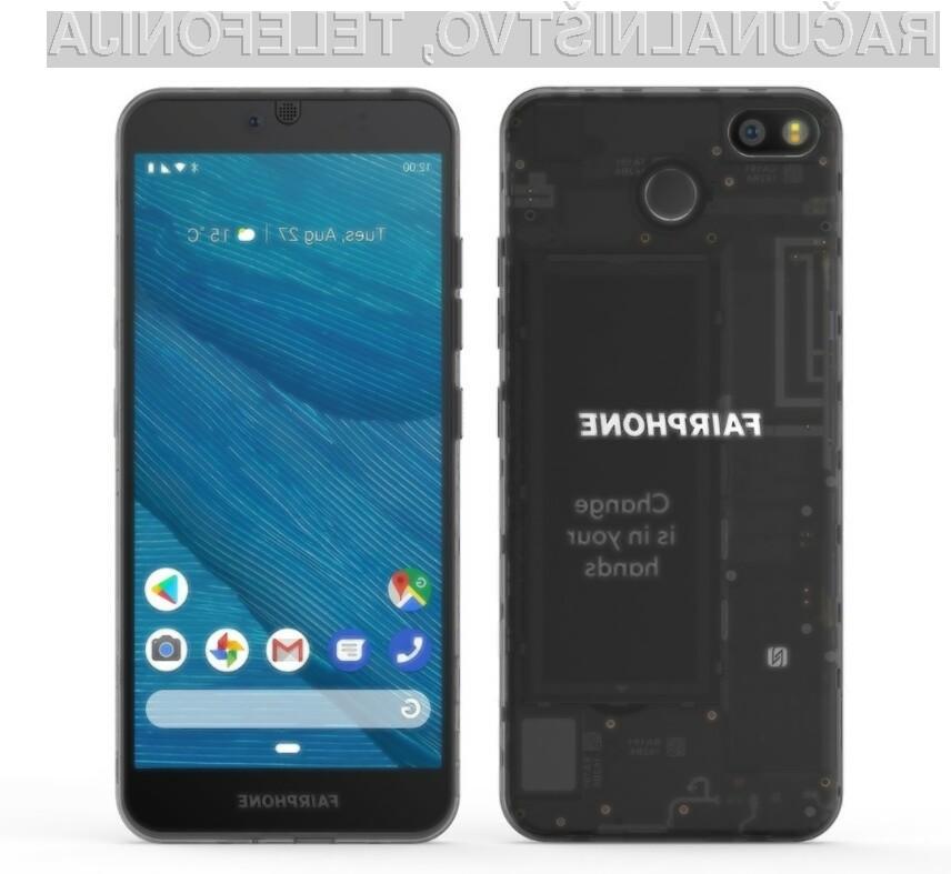 Novi Fairphone 3 je že navdušil marsikaterega ljubitelja čistega okolja.