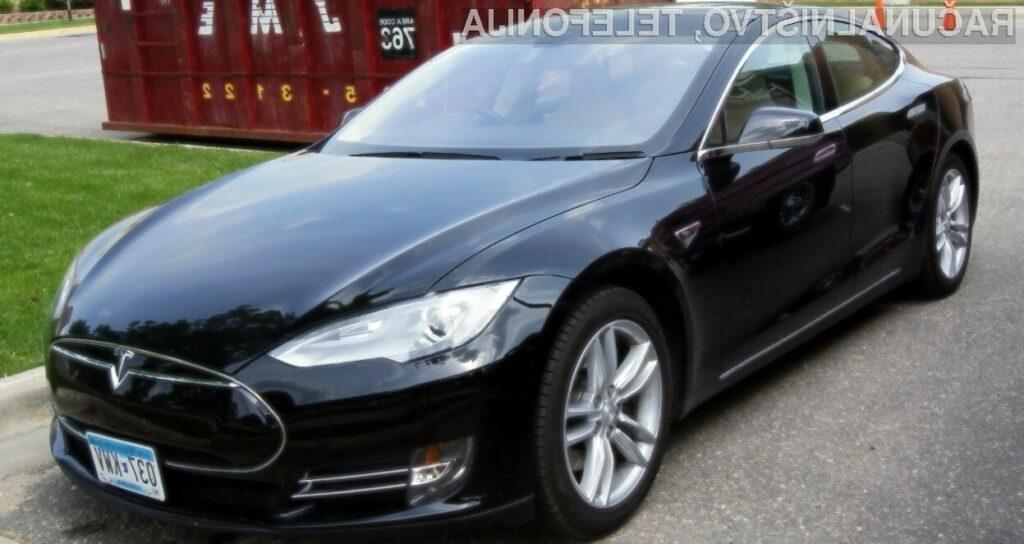Za vstopni model električnega avtomobila Tesla 3 bo treba odšteti 39.500 evrov.