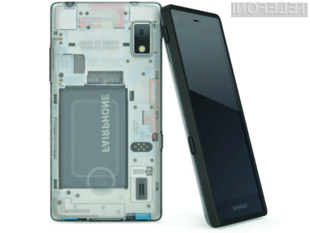Pametni mobilni telefon Fairphone 3 naj bi bil kmalu na voljo za prednaročilo.