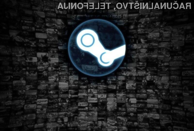 Na igričarsko storitev Valve Steam prisega vse več uporabnikov operacijskega sistema Windows 10.