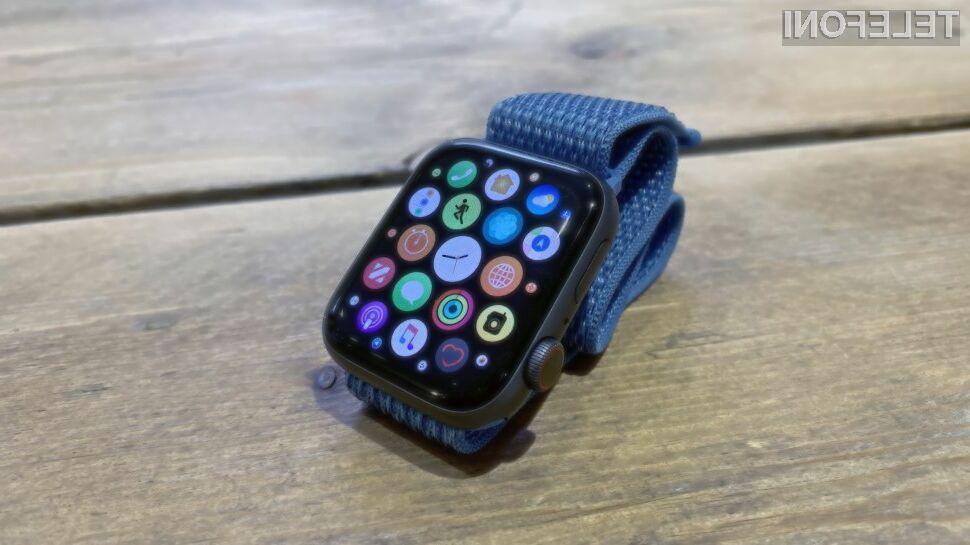 Je to nova pametna ura Apple Watch 5?