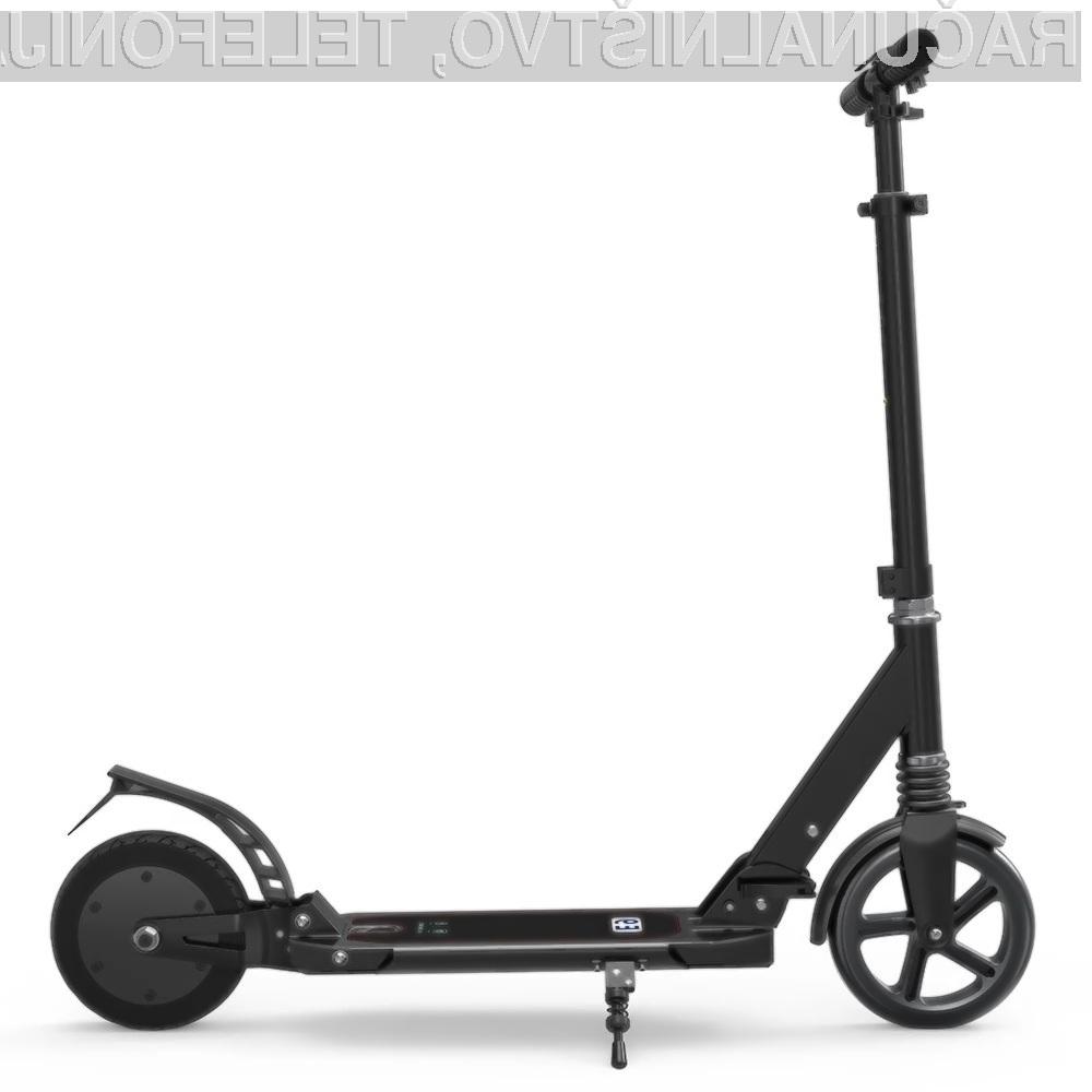 Najboljše prevozno sredstvo za po mestu je električni skuter!