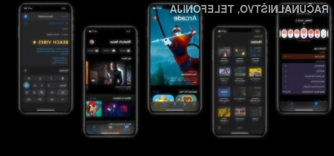 Novi iOS 13 bo na srečo na voljo tudi za starejše mobilne naprave Apple!