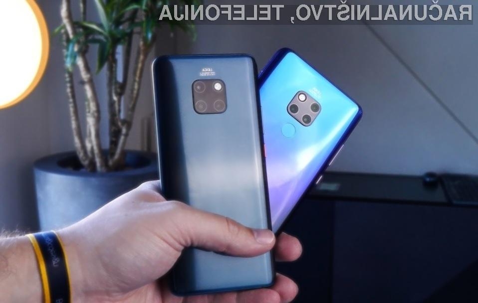 Pametni mobilni telefon Huawei Mate 30 bo zagotovo nekaj posebnega.