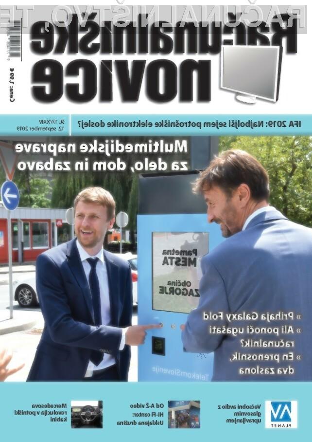 Nova številka revije: Multimedijske naprave za delo, dom in zabavo