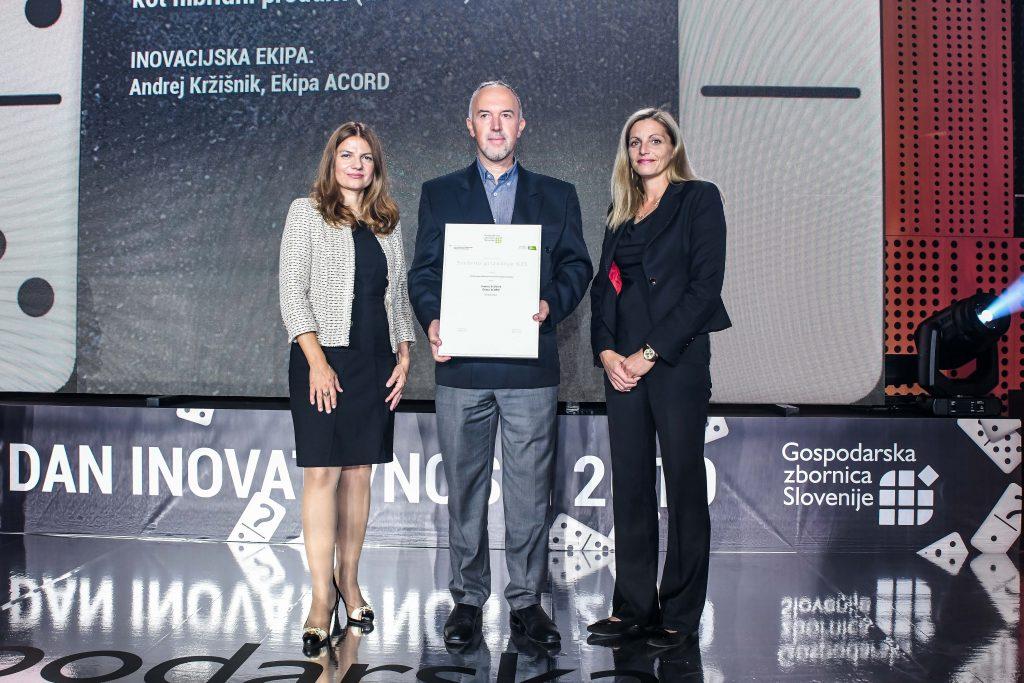Inoavcija, namenjene širokopasovnemu optičnemu dostopu, ki na isti strojni platformi združuje tradicionalni in virtualizirani svet, je tudi prejemnica letošnjega zlatega priznanja Regionalne GZS Gorenjska (foto: KraftArt).