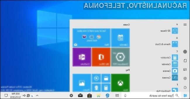 Windows Core OS bo namenjen predvsem napravam, ki bodo neprestano povezane v svetovni splet.