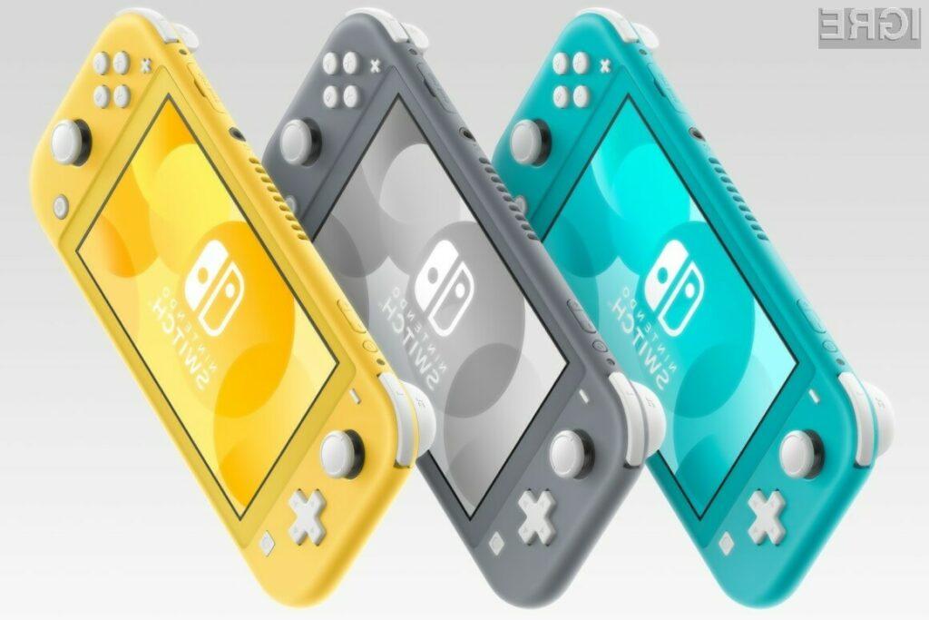 Switch Lite je že na prodajnih policah v treh različnih barvah.