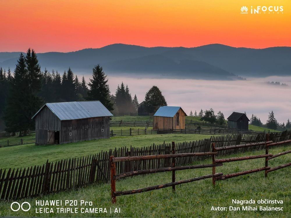 Od čudeža rojstva do mirne gorske pokrajine: Priznani fotografi izbrali najboljše fotografije narejene s telefoni Huawei