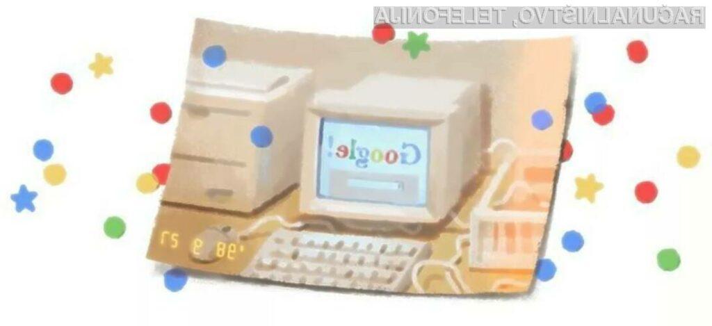 Google praznuje 21. rojstni dan