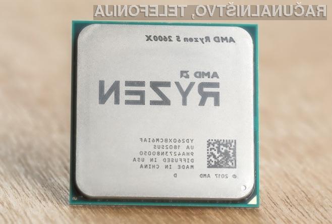 Novo strojno programsko opremo za nove procesorje Ryzen bomo namestili kar s posodobitvijo strojne kode BIOS.