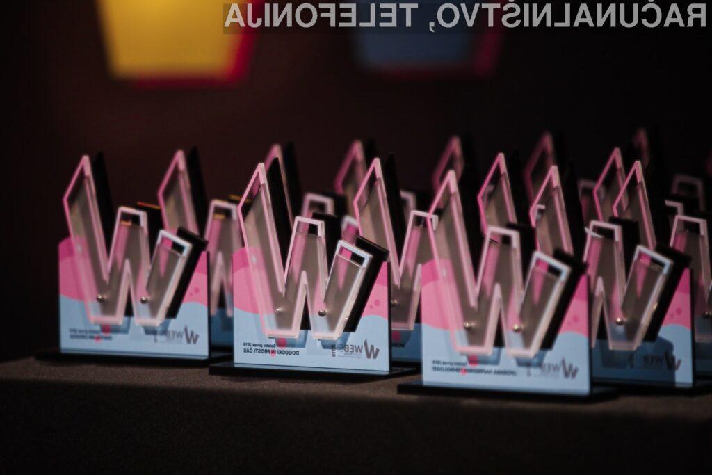 Znani so zmagovalci WEBSI Spletni prvaki