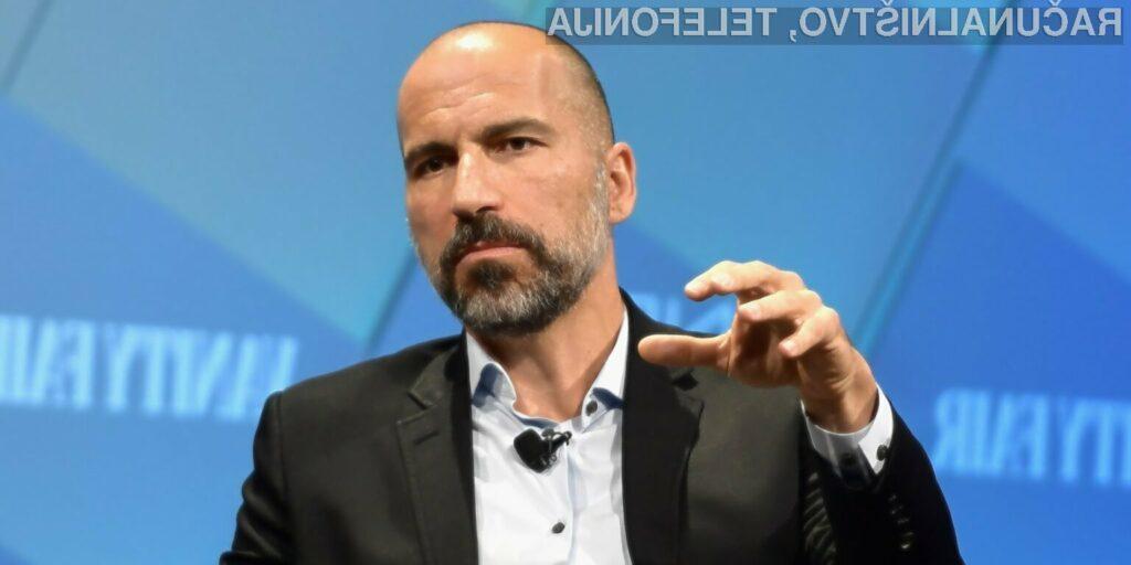 Uber v drugem valu odpuščanja pomahal v slovo več kot 400 zaposlenim