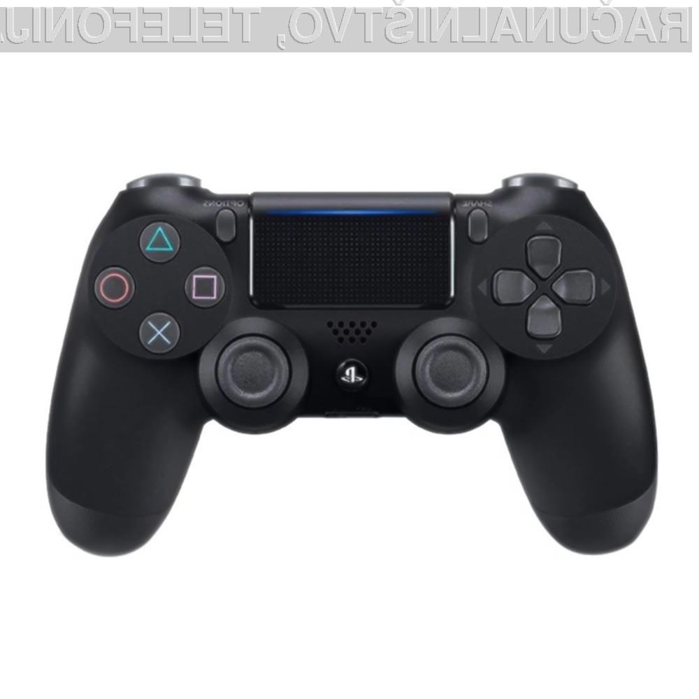 Brezžični igralni plošček za PlayStation 4 je odlično darilo za ljubitelje iger.
