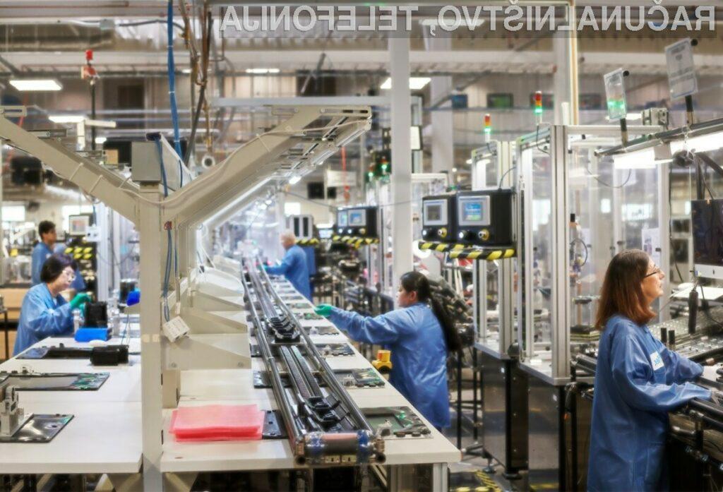 Podjetje Apple naj bi do leta 2023 v ameriško gospodarstvo vložilo približno milijardo ameriških dolarjev.