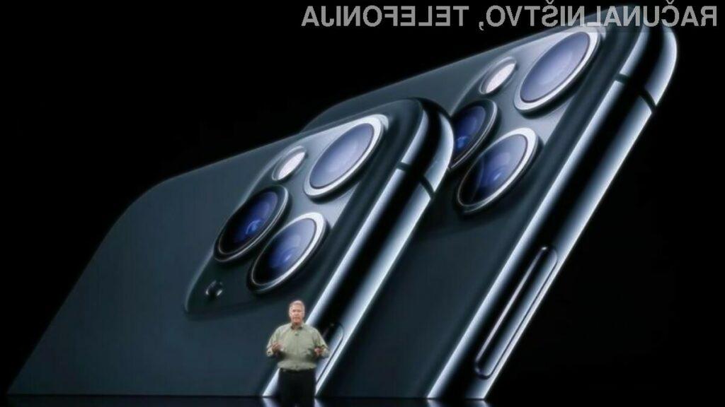 Novi iPhone 11 Pro je precej hitrejši od mobilnih teflonov Android.