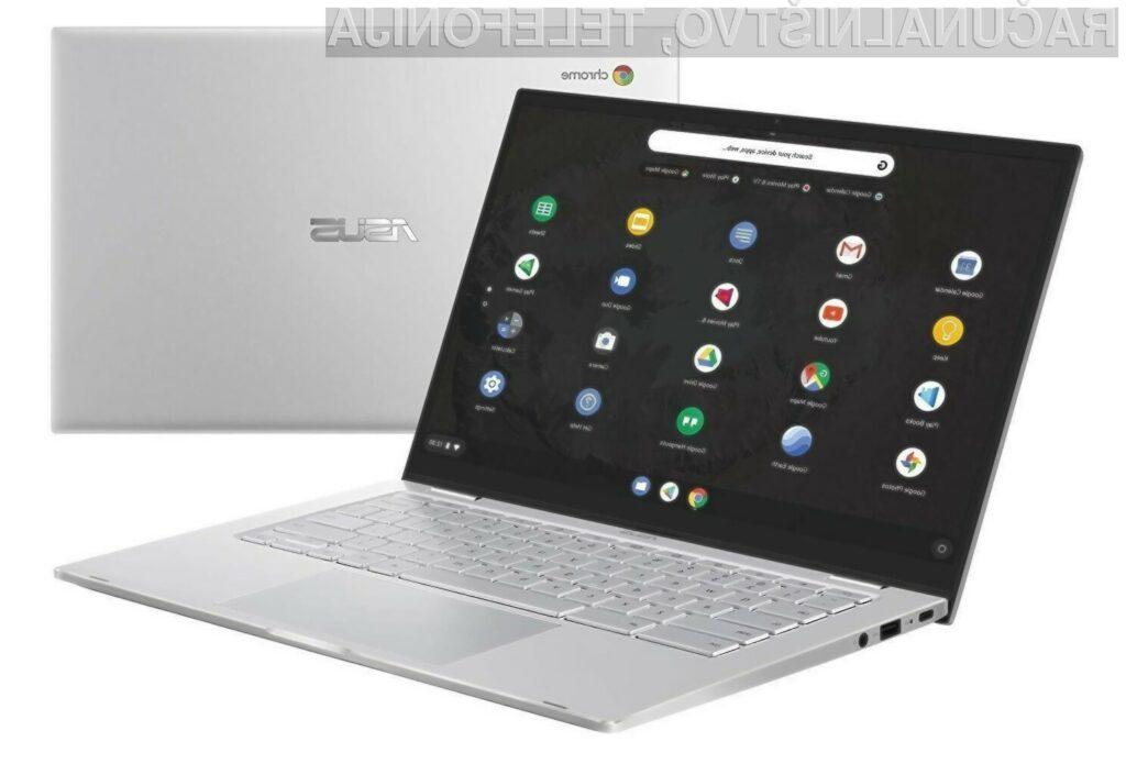 Prenosnik Asus Chromebook C425 bo zlahka kos tudi najzahtevnejšim nalogam!