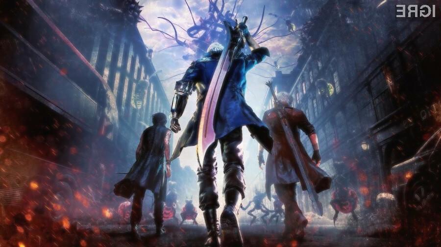 V ospredju razprodaje je letošnja akcijska uspešnica Devil May Cry 5.