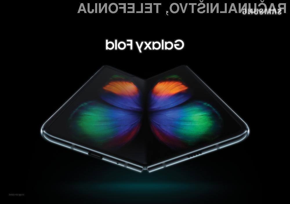 Prepogljivi Samsung Galaxy Fold bo sprva na voljo korejskim uporabnikom.