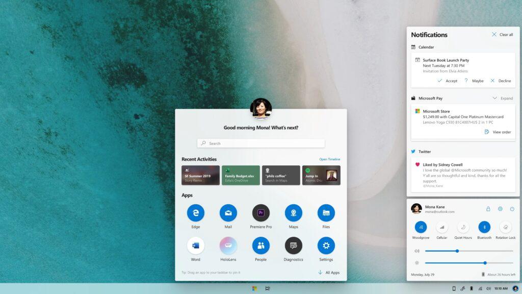 Novi Windows Core OS bo zelo prilagodljiv in v praksi raznolik glede na področje uporabe.