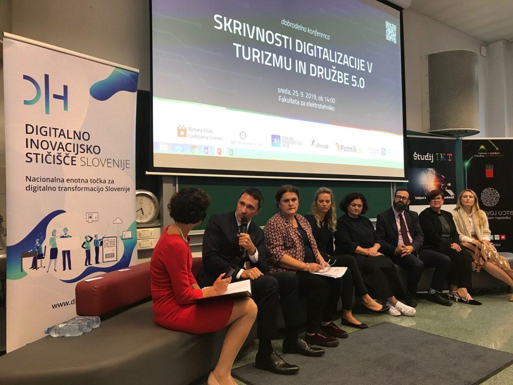 Strokovna dobrodelna konferenca o digitalizaciji v turizmu in Družbi 5.0
