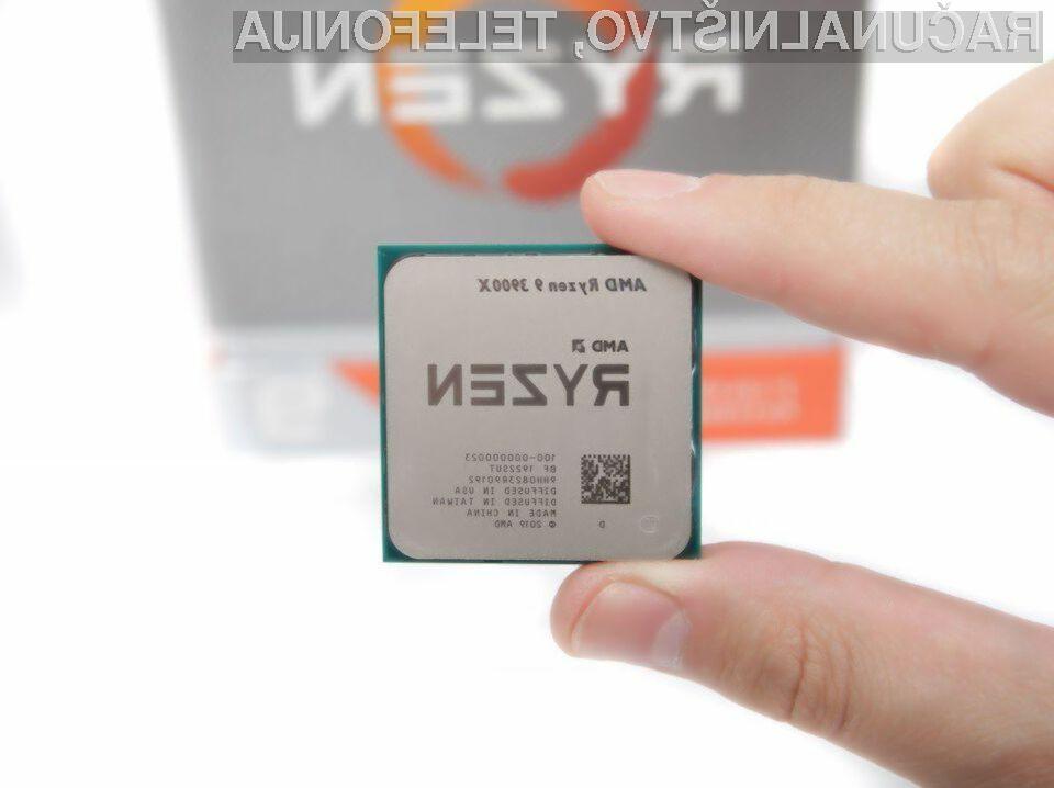 12-jedrni AMD Ryzen 9 3900 bo pri polni obremenitvi porabil zgolj 65 vatov električne moči.