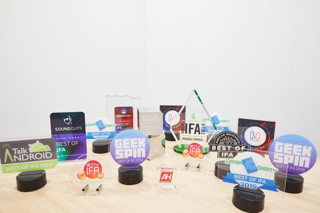 Huawei na berlinskem sejmu IFA 2019 prejel največ nagrad