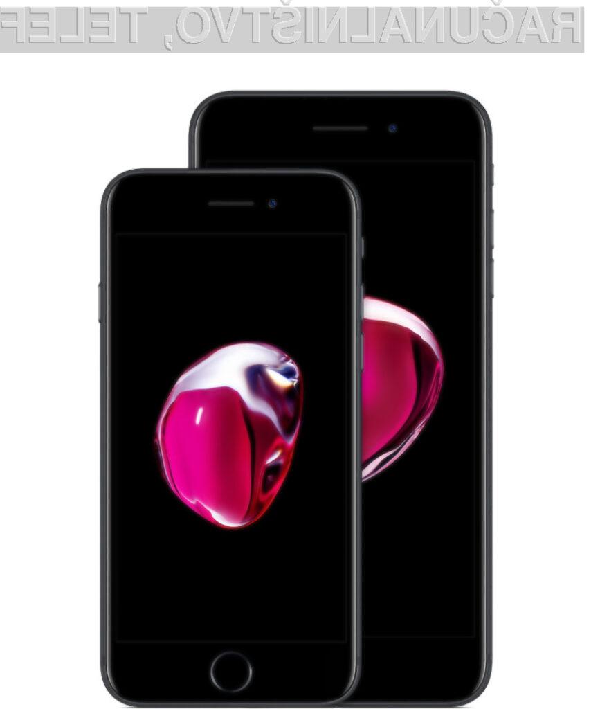 Največ ameriških uporabnikov storitev mobilne telefonije prisega na iPhone 7.