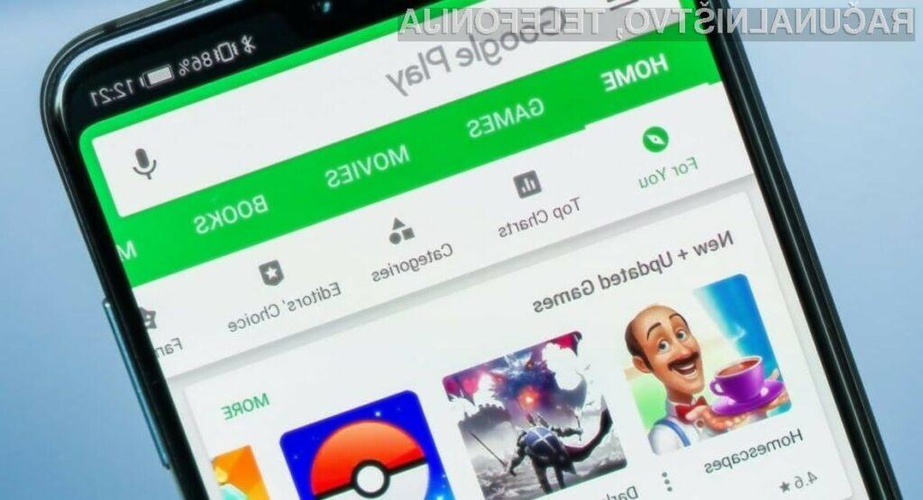 Storitev Google Play Pass bo sprva nudila okoli 350 mobilnih iger.