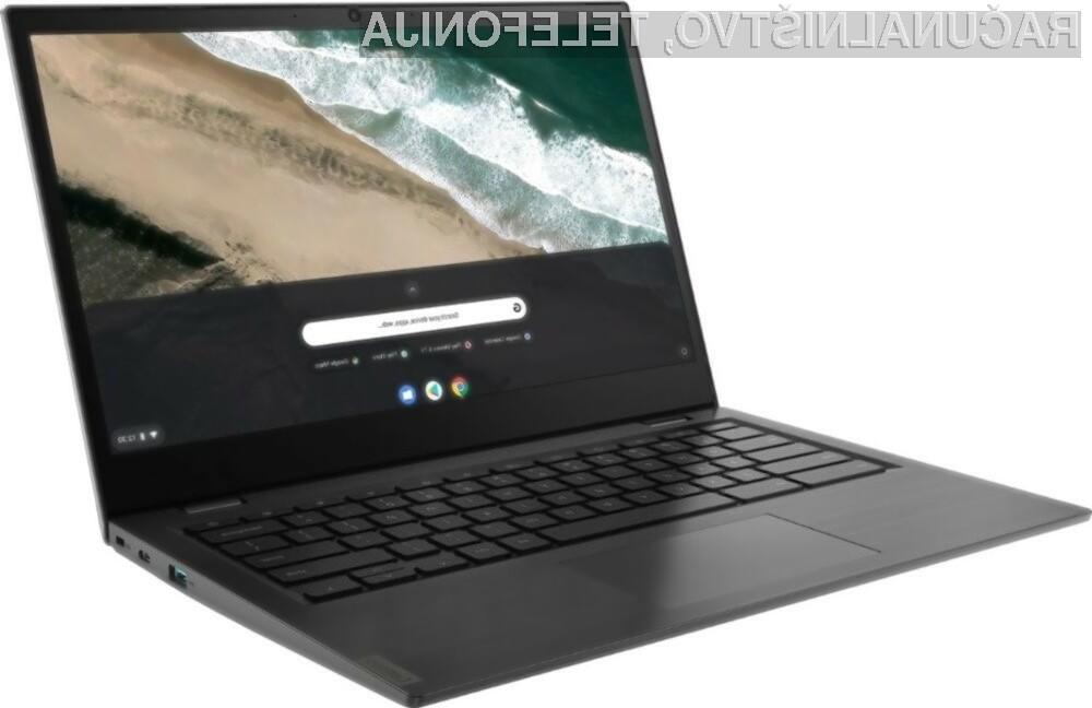 Prenosni računalnik Lenovo Chromebook S345-14 za malo denarja ponuja veliko.