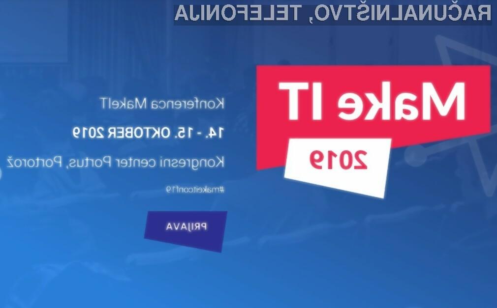 MakeIT je največja konferenca razvijalcev v Sloveniji.