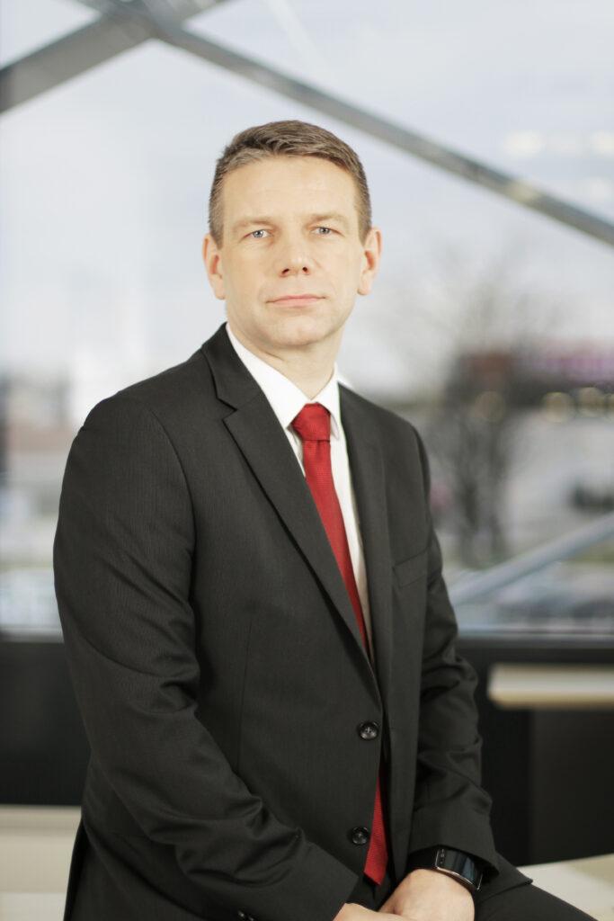 Klemen Klinar, direktor področja prodaje in trženja v podjetju Mikrocop