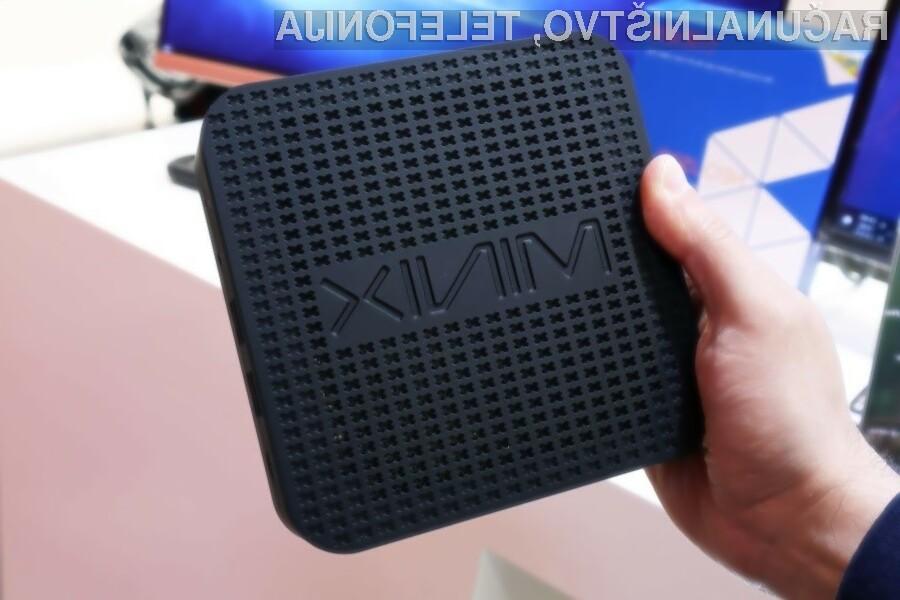 Računalniški sistem Minix NEO G41V-4 se lahko pobaha s povsem neslišnim delovanjem.