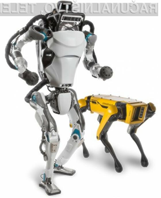 Prenovljeni robot Atlas namreč lahko brez težav dela prevale, stojo in poskoke.