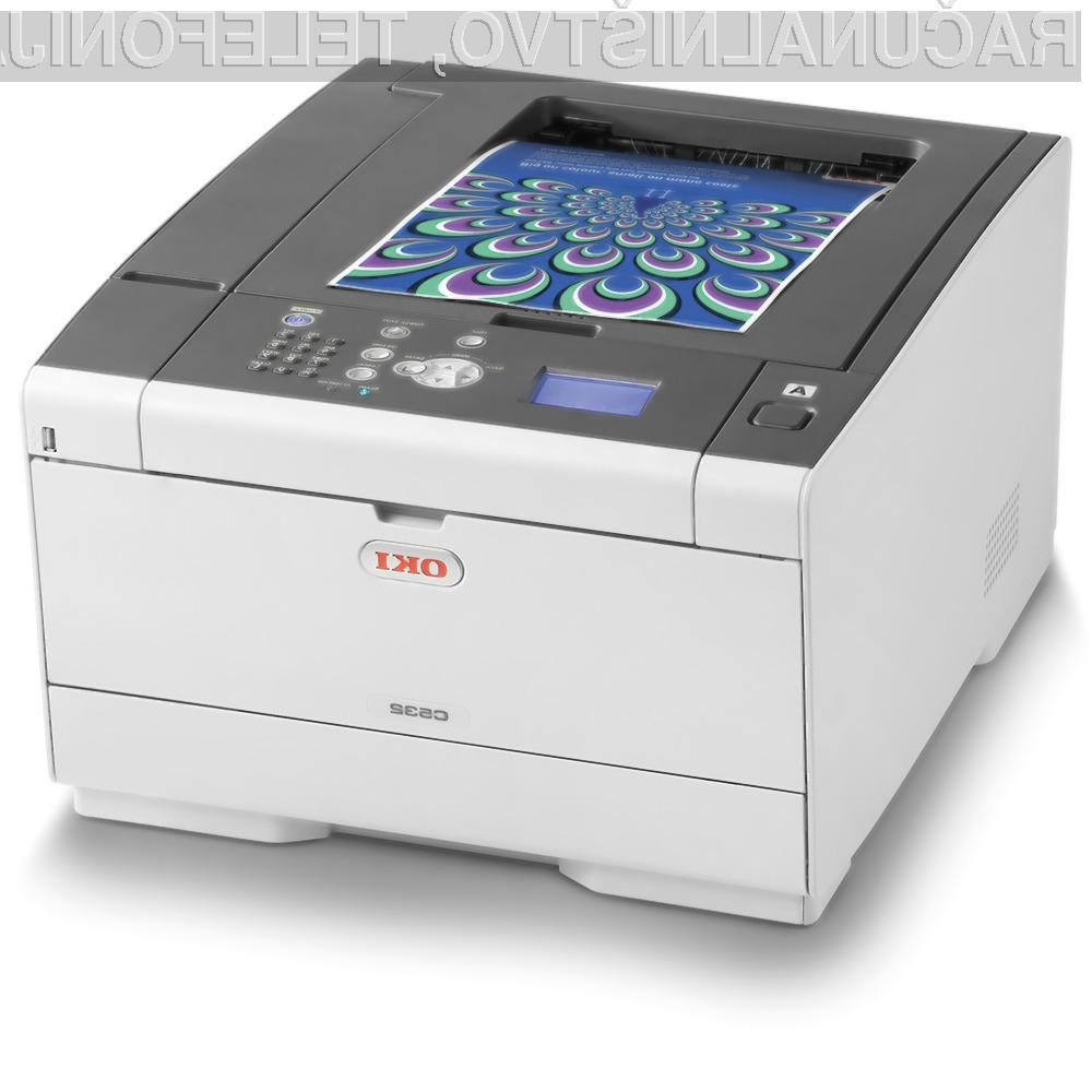 Barvni laserski tiskalnik OKI C532dn