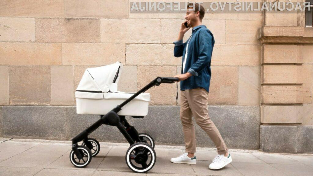 Pametni otroški voziček na električni pogon podjetja Bosch Mobility Solutions je najnaprednejši doslej!