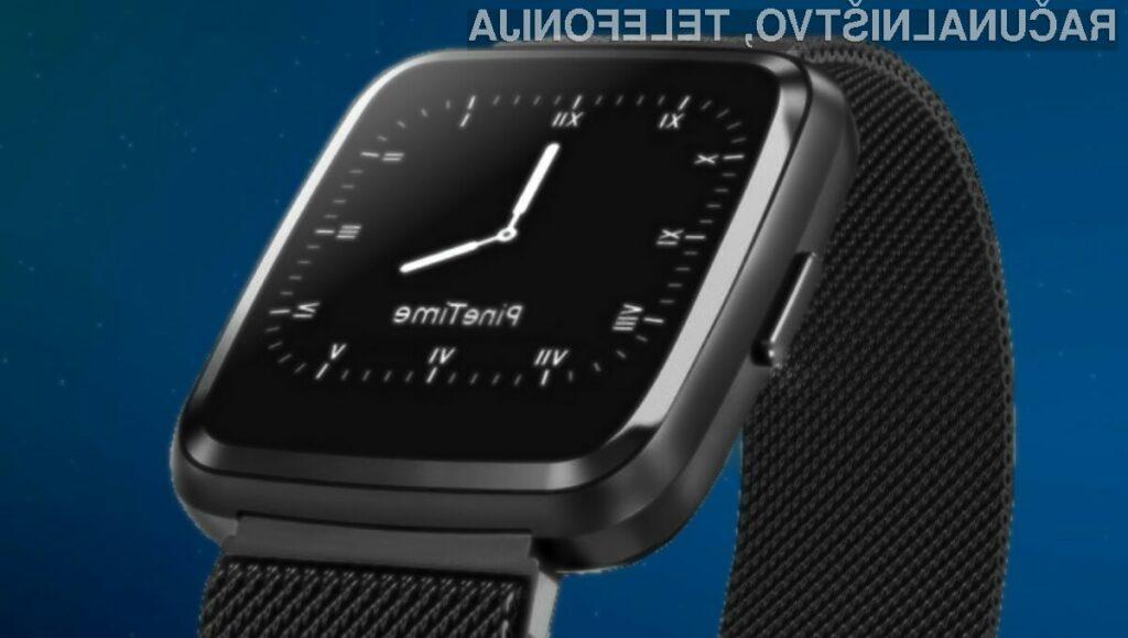 Za pametno ročno uro PineTime podjetja Pine64 bo treba odšteti zgolj preračunanih 22,7 evrov.