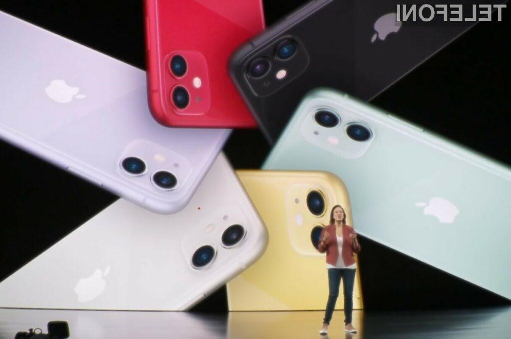 Za novi iPhone 11 bo treba odšteti vsaj 839 evrov.