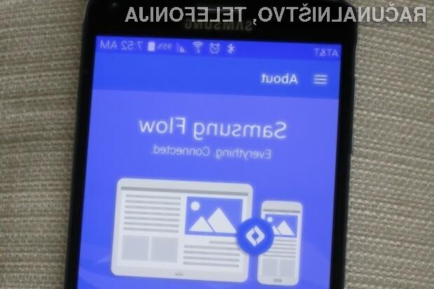 Aplikacija Samsung Flow je z nedavno posodobitvijo postala nadvse uporabna!