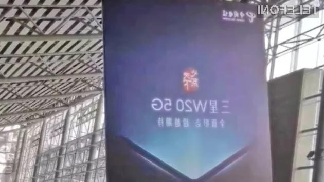 Samsung W20 5G naj bi združeval zastarelo obliko s sodobno tehnologijo!