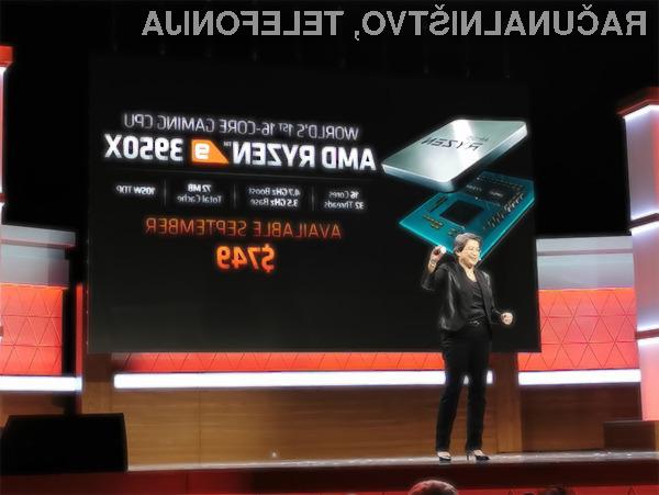 Procesor AMD Ryzen 9 3950X naj bi imel težave pri doseganju najvišjih frekvenc, zato to potrebna posodobitev strojne kode.
