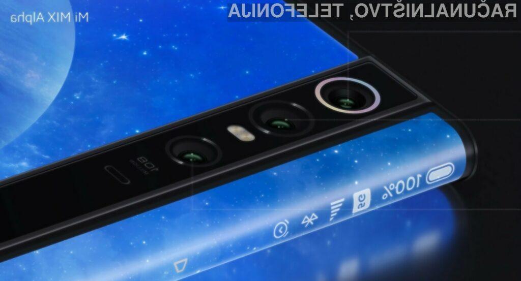 Podjetje Xiaomi je v razvoj pametnega mobilnega telefona Mi Mix Alpha vložilo kar 70 milijonov ameriških dolarjev!
