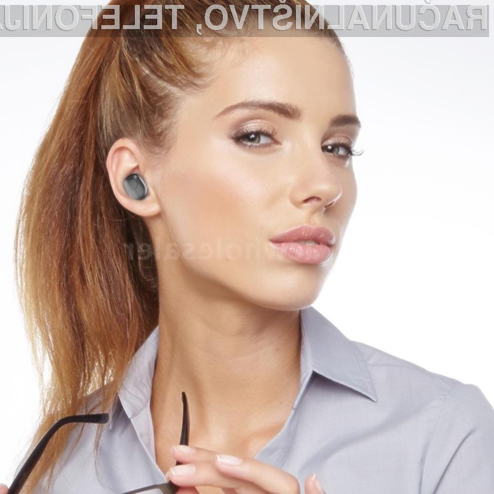 Poceni a uporabne brezžične slušalke G6S BT5.0 Mini Earbuds TWS.