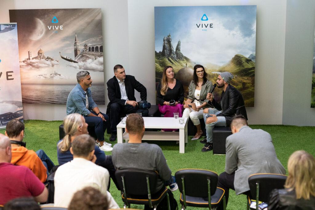 HTC je z dogodkom uradno predstavil najsodobnejši VR sistem na svetu in najavil njegovo dostopnost od 3. oktobra naprej tudi v Sloveniji.