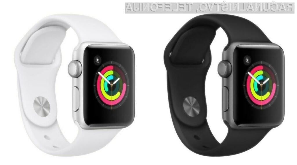 Podjetje Apple je priznalo težave z zasloni starejših pametnih ročnih ur Apple Watch.