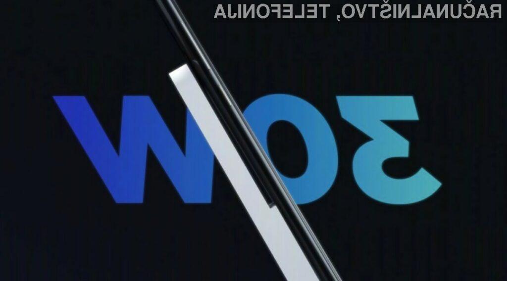 Novi brezžični polnilec podjetja Xiaomi lahko baterijo kapacitete 4.000 miliamper do polovice napolni v zgolj 25 minutah.