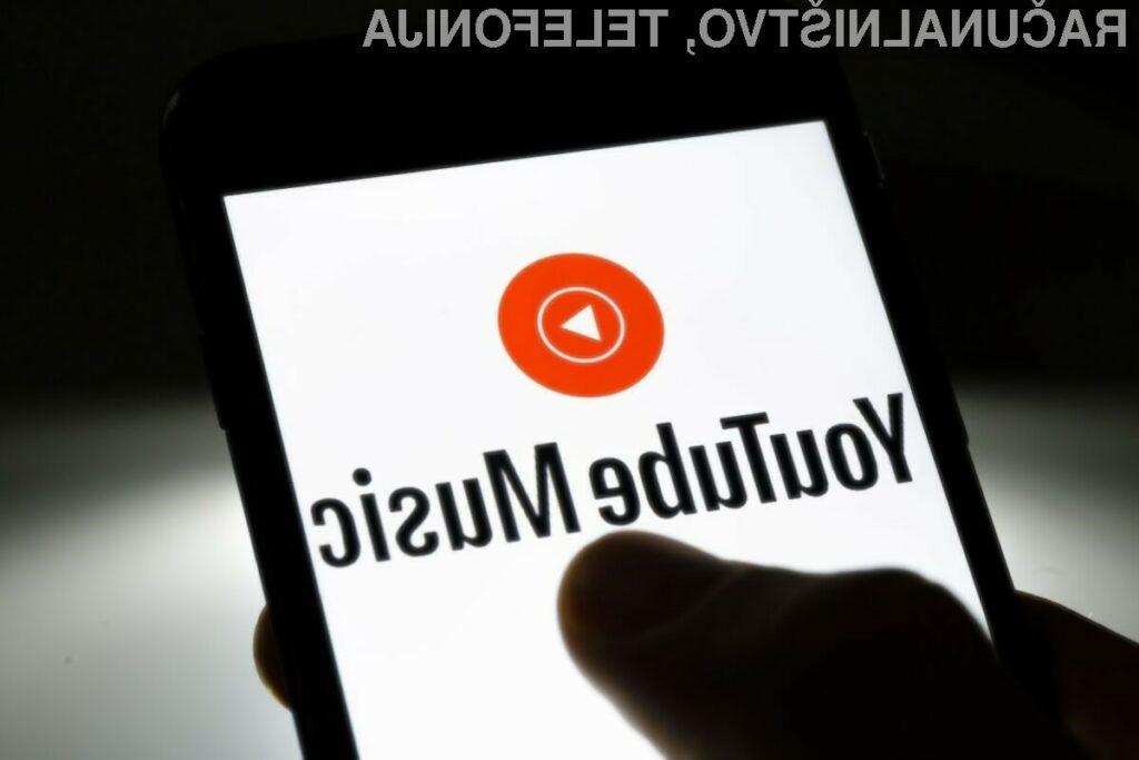 Aplikacija YouTube Music bo prednameščena na vseh novejših mobilnih napravah Android.