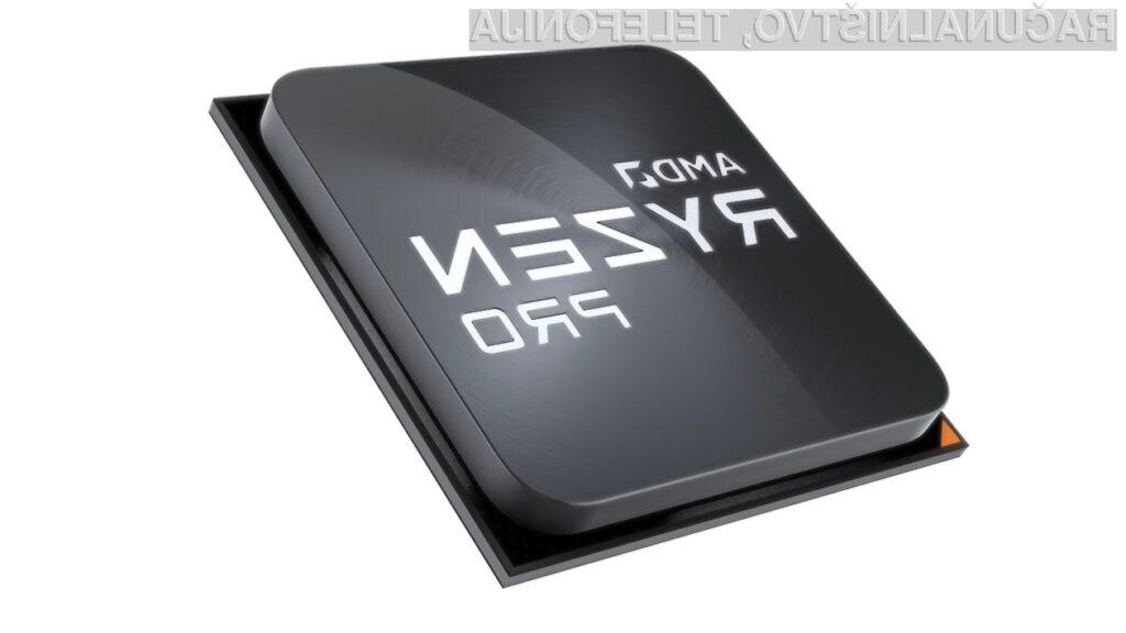 Novi AMD Ryzen 9 PRO 3900 kljub visoki zmogljivosti porabi malo električne energije.